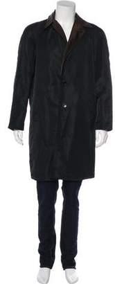Dolce & Gabbana Reversible Knee-Length Coat