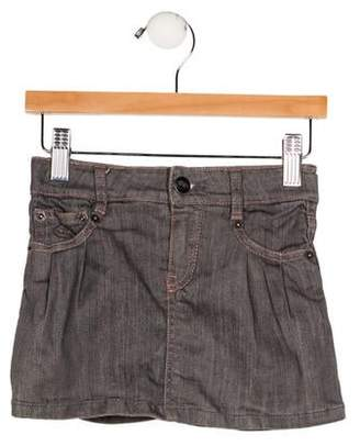 Little Marc Jacobs Girls' Mini Denim Skirt