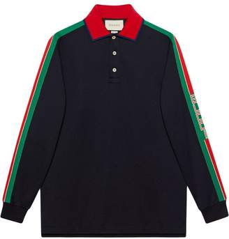 126d773573e6 Gucci Stripe Polo Shirts - ShopStyle