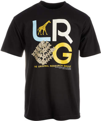 Lrg Men's High Country Graphic Cotton T-Shirt