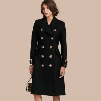 Burberry Wool Cashmere Blend Military Coat $2,195 thestylecure.com