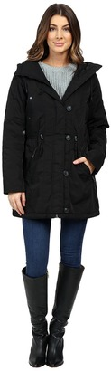 Marc New York by Andrew Marc - Chrissy 32 Luxe Rain Coat Women's Coat $240 thestylecure.com