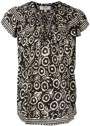 Sea Emi ruffle trim blouse
