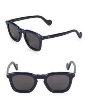 Moncler Mr. 50MM Square Sunglasses