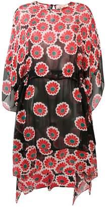 Diane von Furstenberg floral blossom print dress