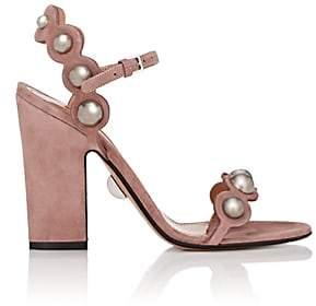 Ralph Lauren SAMUELE FAILLI Women's Suede Sandals - Pink