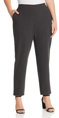Lafayette 148 New York Plus Fulton Straight-Leg Pants