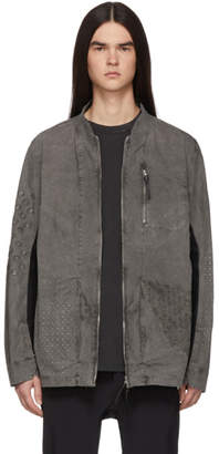 11 By Boris Bidjan Saberi Black Dye Bamba Jacket