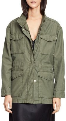 Vince Utility Military Jacket, Army $425 thestylecure.com