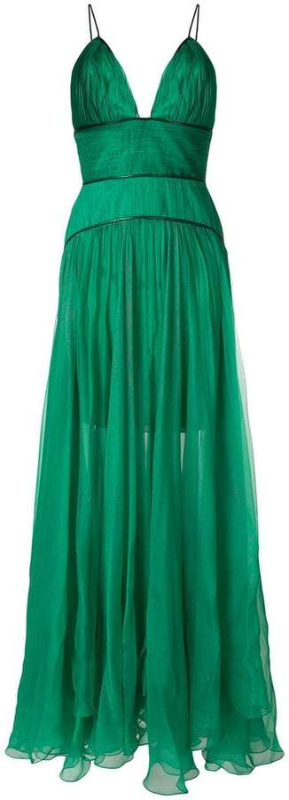 maxi lurex dress