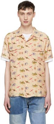 Levi's Clothing Beige Universe Print 1940s Shirt