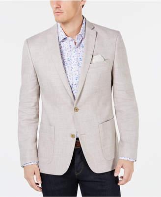 Bar III Men Slim-Fit Solid Textured Sport Coat