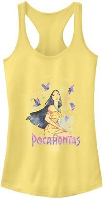 663cf0930e70e6 Juniors  Disney s Pocahontas Free Spirit Graphic Tank