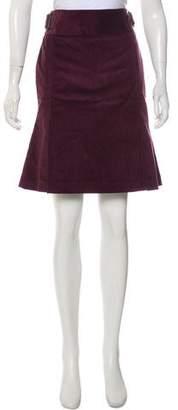 Tibi Corduroy Knee-Length Skirt