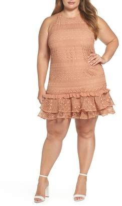 Cooper St Elizabeth Lace Shift Dress (Plus Size)