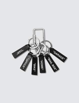 Off-White Off White Label Keychain