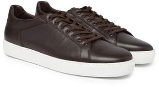 J.M. Weston Leather Sneakers
