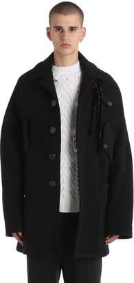 Damir Doma Oversized Double Wool Blend Coat