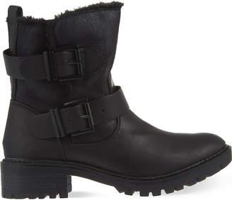 Miss KG Ladies Black Snug Ankle Boots