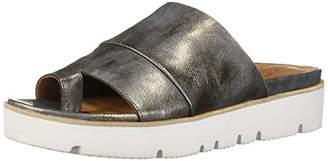 Gentle Souls Women's Lavern Platform Slide Toe Ring Sandal