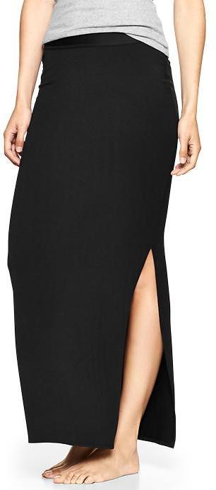 Gap Pure Body slit maxi skirt