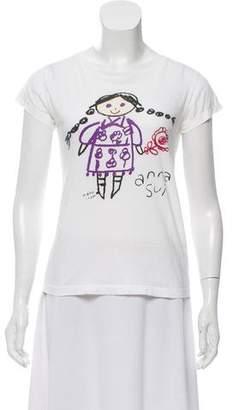 Anna Sui Short Sleeve T-Shirt