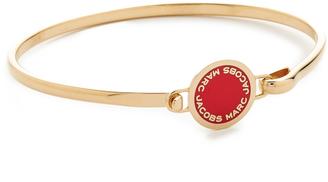 Marc Jacobs Enamel Logo Disc Hinge Bracelet $55 thestylecure.com