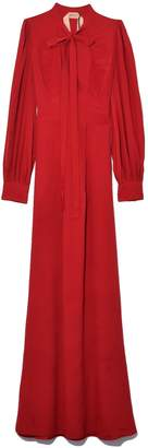 No.21 No. 21 Tie Neck Dress in Red