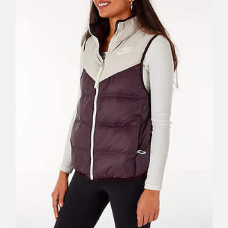 Nike Women's Sportswear Reversible Windrunner Down Vest