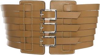 Maison Vaincourt Multi Strap Leather Belt