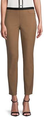 Lafayette 148 New York Women's Gansevoort Stretch-Cotton Leggings
