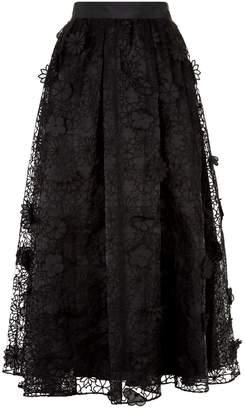 Ted Baker Lovella Embroidered Midi Skirt