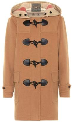 Burberry The Mersey Duffle wool-blend coat