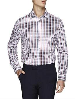 Ben Sherman Ls Multi Gingham Kings Fit Shirt