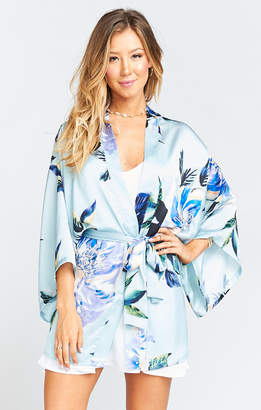 Show Me Your Mumu Texas Kimono ~ Mint to Be Floral