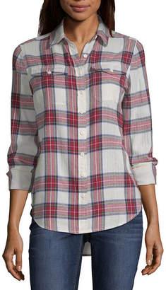 Parker PEYTON & Peyton & Long Sleeve Button-Front Shirt