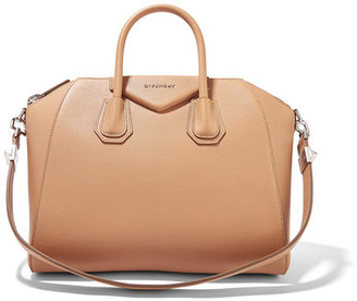 Givenchy - Antigona Medium Textured-leather Tote - Tan $2,450 thestylecure.com