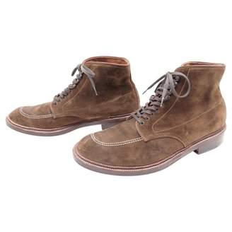 Alden Pony-style calfskin boots