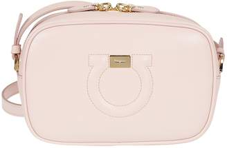 Salvatore Ferragamo Gancio City Shoulder Bag