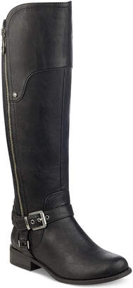 G by Guess Harson Wide-Calf Tall Riding Boots Women's Shoes