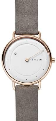 Skagen Horisont Watch with Diamond, 36mm