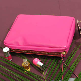 Undercover Tropical Luxurious Leather Make Up Bag
