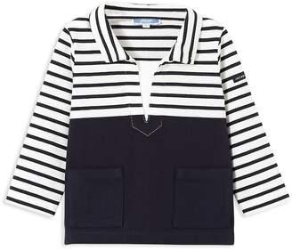 Jacadi Boys' Contrast Striped Shirt