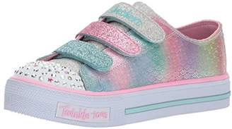 Skechers Girl's Shuffles-Ms. Mermaid Trainers,(33 EU)