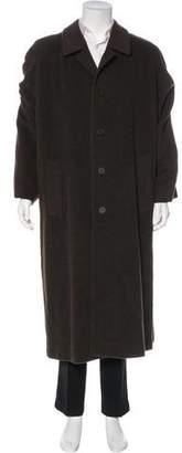 Giorgio Armani Virgin Wool & Alpaca Over Coat