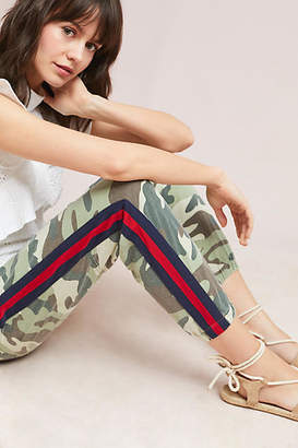 Mother The Misfit Camo Cropped Pants