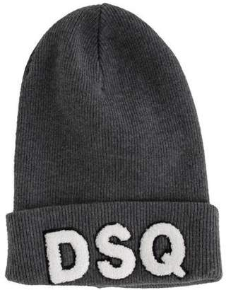4a6ff4f394b DSQUARED2 Gray Men s Hats - ShopStyle