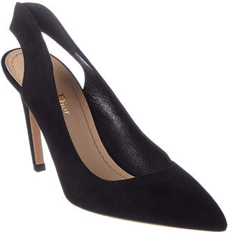 815d34e49394 Christian Dior Obsessed Suede Slingback Pump