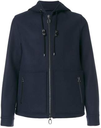 Lanvin zipped hooded jacket