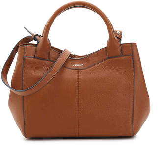 Perlina Amelia Leather Satchel - Women's